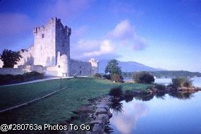 Ross Castle in Tipperary